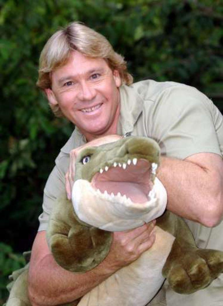 'Crocodile Hunter' Steve Irwin overleed in 2006 door een steek van een pijlstaartrog in het hart.