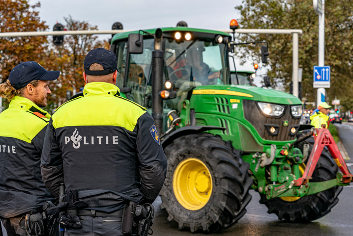 De gemeente Den Haag had uit voorzorg politie en ME ingezet om eventuele onregeldheden te voorkomen.