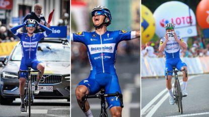 Van de Baloise Belgium Tour tot de Ronde van Polen: de straffe solo's van Remco Evenepoel