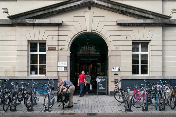 Bibliotheek in de Bossche Hinthamerstraat.