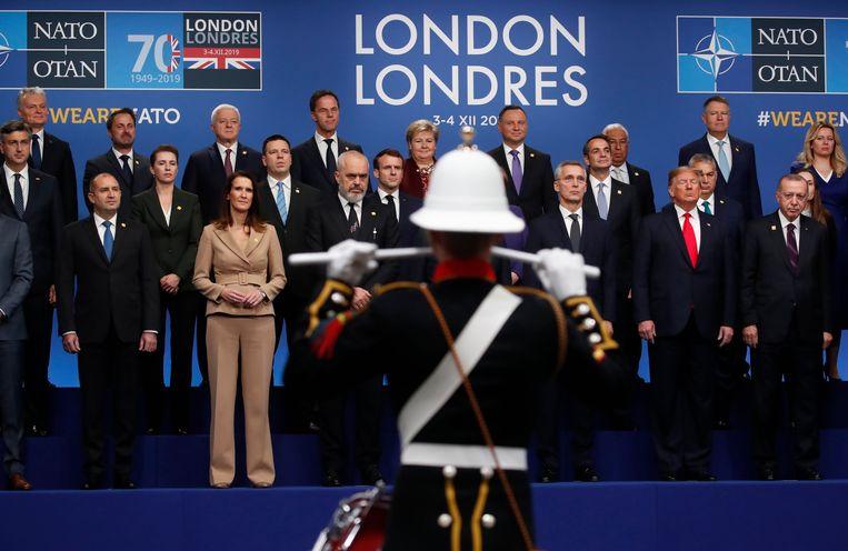 De 29 lidstaten van de NAVO hebben op de bijeenkomst in Londen, ondanks de grote mate van onenigheid voor aanvang van de minitop, een gezamenlijke verklaring bereikt.