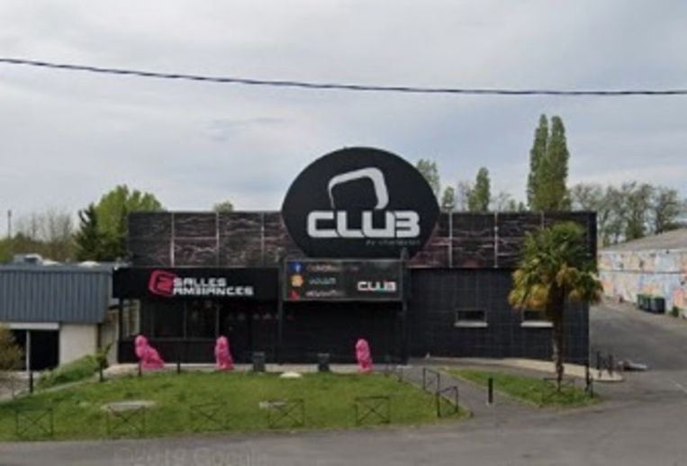 De O'Club in Toulouse ging net sluiten.