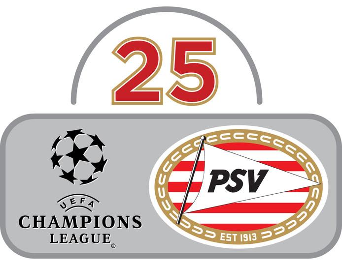 25 jaar PSV in de Champions League.