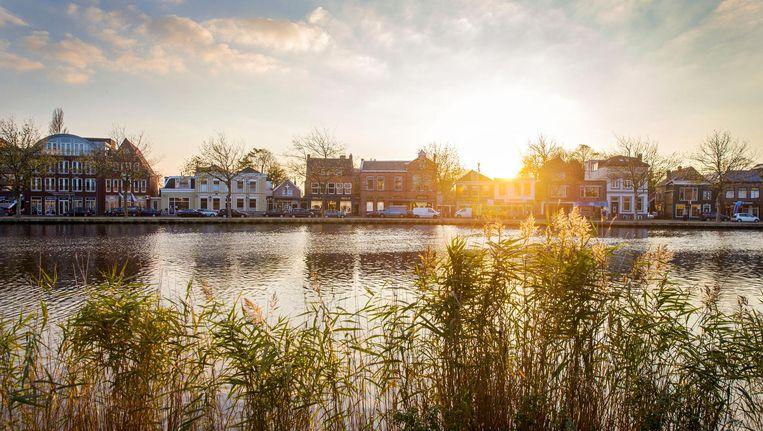 Uitzicht op de Zaanboulevard, die in Zaanstad een van de vier verblijfsgebieden voor toeristen moet worden Beeld Jean-Pierre Jans