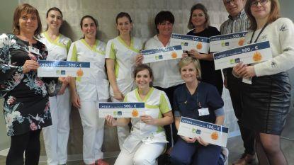 Personeel ziekenhuis Sint-Blasius toont warm hart