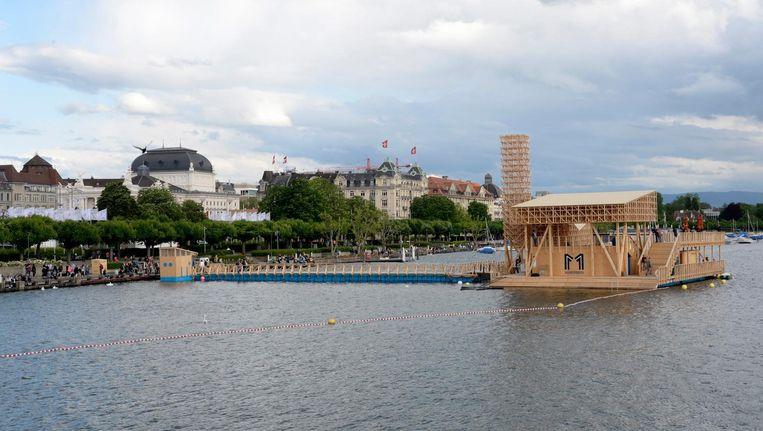 Biënnale Manifesta in Zürich dit jaar. Beeld anp