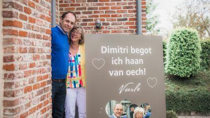 """""""Tranen van geluk"""": Veerle Heeren kan partner Dimitri na 47 dagen opnieuw omhelzen"""