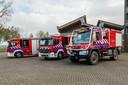 De VRU schaft nieuwe brandweerautos aan. De testmodelen staan in Soest