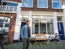 Sebastiaan waant zich in zijn Scheveningse straatje toch in Limburg