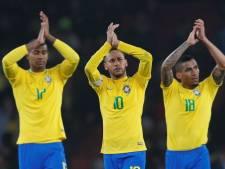Neymar helpt Brazilië in Londen langs Uruguay