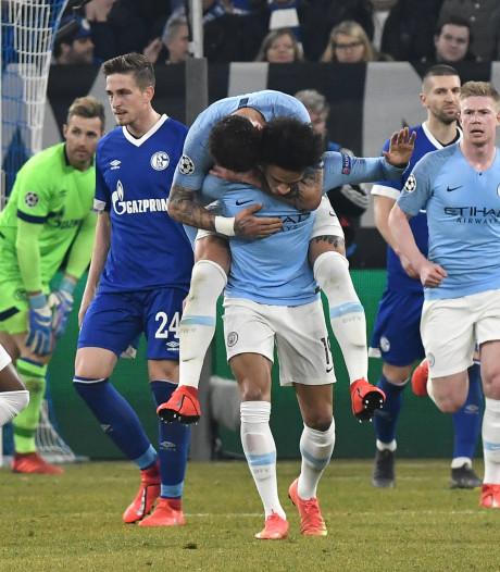 Sané zegt sorry voor goal tegen oude liefde Schalke