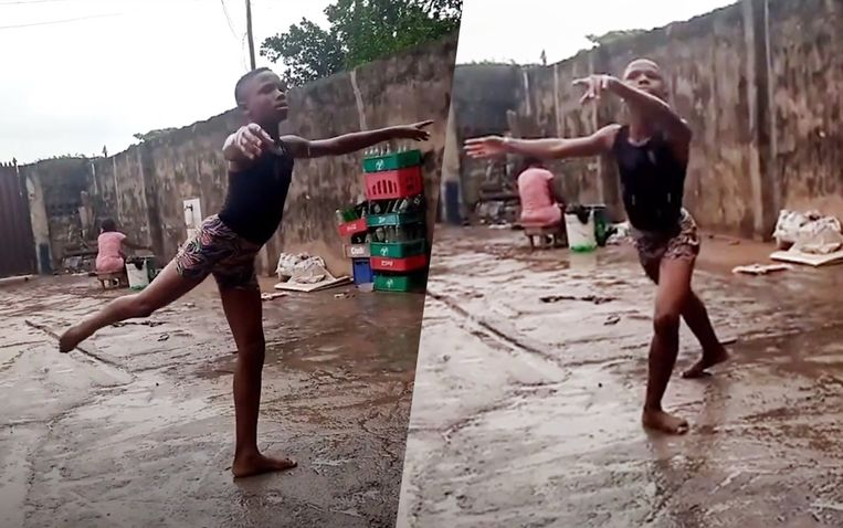 Anthony Mmesoma Madu danst alsof het kinderspel is.