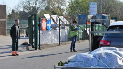 "Geen chaos in recyclageparken van Ibogem: ""Systeem op afspraak werpt vruchten af"""