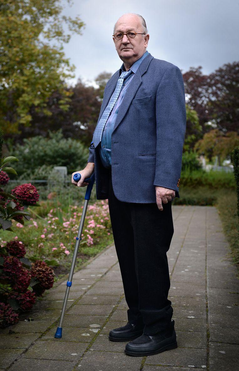 De butler. Beeld Foto Marcel van den Bergh / de Volkskrant