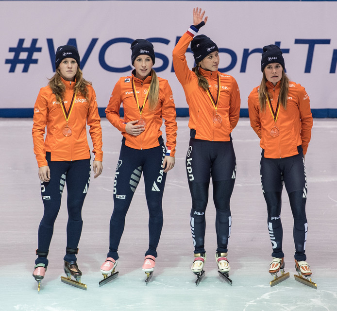 Lara van Ruijven, Rianne de Vries, Suzanne Schulting, Yara van Kerkhof