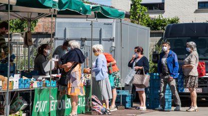 Vlotte heropstart wekelijkse markt, mede dankzij nieuw parcours