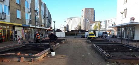Nieuwe entree parkeergarage Nieuwe Markt bijna klaar voor intocht Sinterklaas