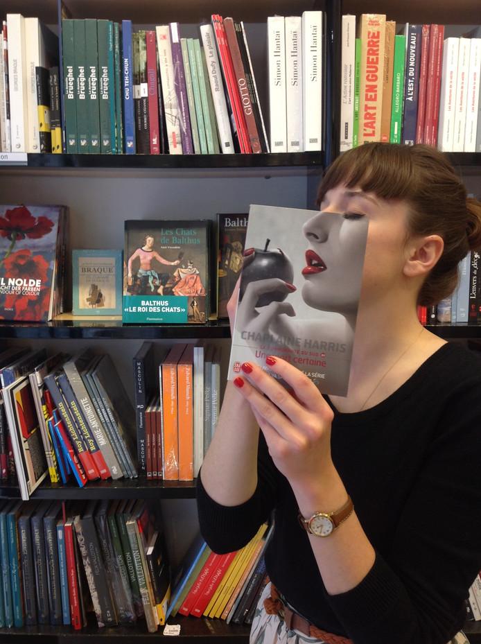 Ook in Frankrijk is een bookface maken erg populair.