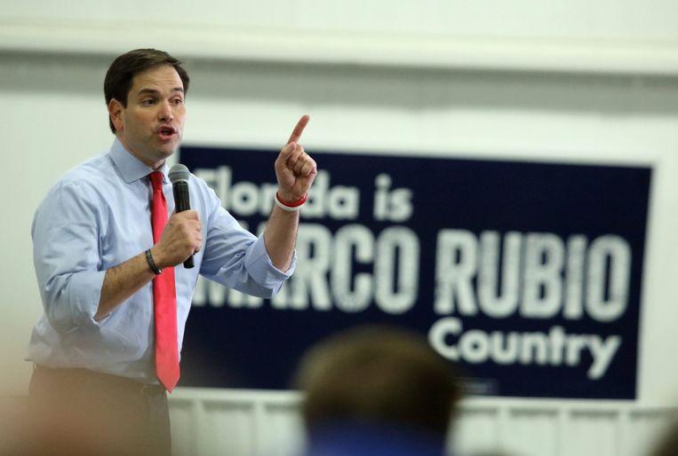 Kandidaat Rubio voert campagne in sleutelstaat Florida. Beeld null