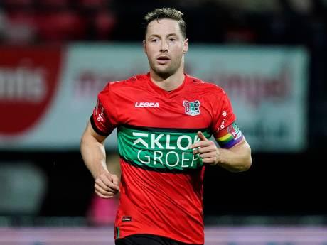 Van Eijden speelt liever tegen NAC of De Graafschap: 'Bij Jong Ajax durven ze alles'