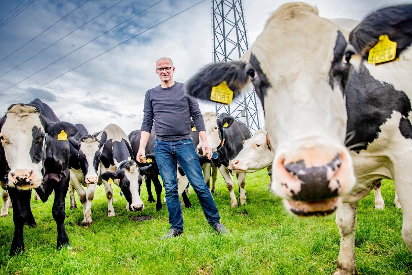Boer Gerard Eldhof (55) uit Laag Zuthem is alle aantijgingen zat.