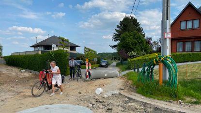 """Bewoners Dries moeten  verplicht door werfzone rijden: """"Noodzakelijk voor veiligheid van wandelaars en fietsers"""""""