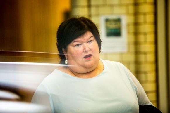 Maggie De Block (Open Vld), minister van Volksgezondheid.