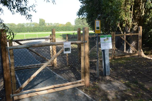 Illustratiebeeld: De dierenbegraafplaats in Zwijndrecht.
