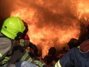 L'ex-maison communale de Ransart touchée par un incendie à la suite d'une explosion