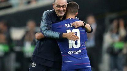 """Chelsea-coach Sarri: """"Ik wens Hazard het allerbeste"""""""