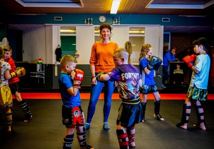 In Bodegraven kunnen deze kinderen sinds vorige maand terecht bij kinder-eetcoach Christa Takens.