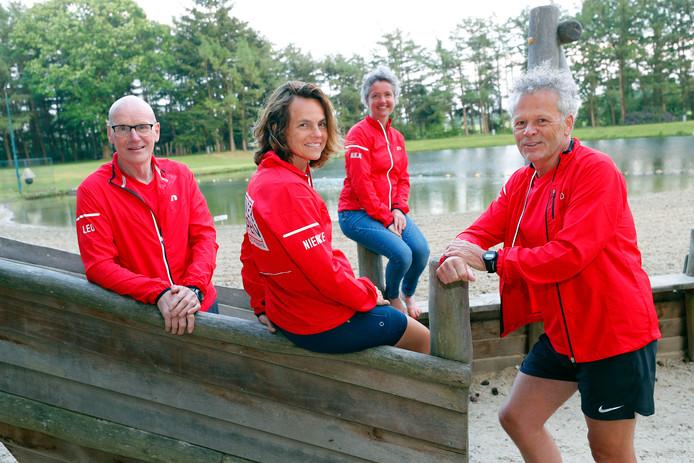 Leo van Avendonk, Nienke Erisman, Aukje de Hair en Geert Coenen (vlnr).
