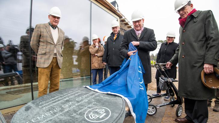 Bijzonder moment bij bouw  nieuw bezoekerscentrum Hoge Veluwe