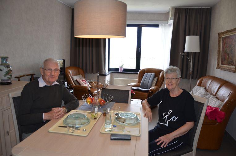 Willy en Elisabeth mochten vandaag al terugkeren naar hun flat.