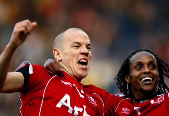 Stein Huysegems in het shirt van FC Twente.