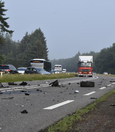 Weer meeste ongevallen op Hessenweg Dalfsen