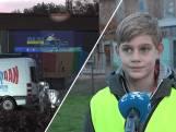 Basisschoolleerlingen Kapelle zetten hun fietslamp 'AAN'