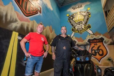 Bredase chapter omstreden motorclub Kings Syndicate heft zich op