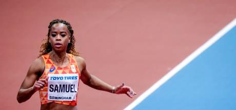 Samuel prolongeert titel 100 meter