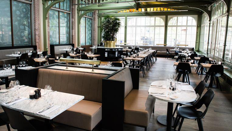 De Plantage op de Plantage Kerklaan, genomineerd in de categorie beste bar en restaurant van 2014. Beeld Mats van Soolingen