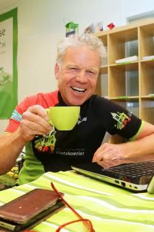 De Gorkumse Fietskoerier groeit: 'Ik kan al fietsend mijn boterham verdienen'