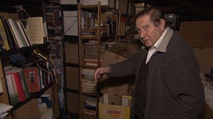 VIDEO. De indrukwekkende boekencollectie van Etienne Vermeersch