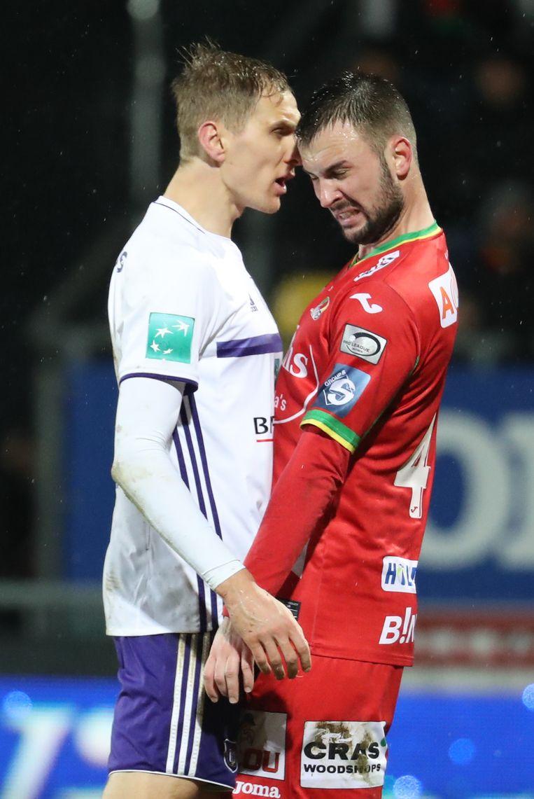 Lukasz Teodorczyk en zijn toekomstige ploegmaat, Antonio Milic.