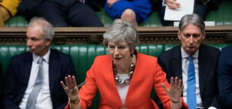 'May vraagt EU om kort uitstel van de brexit'