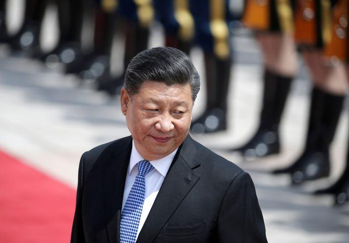 De president Xi Jinping.