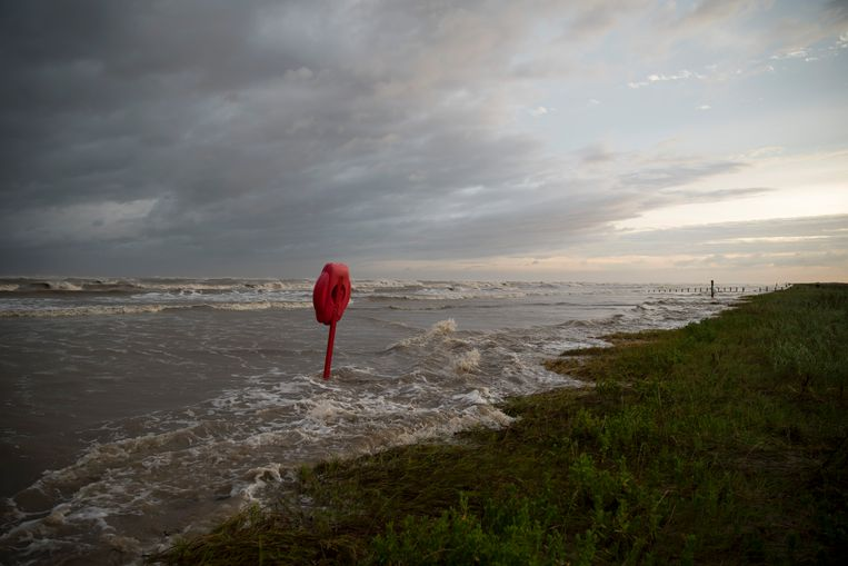 Orkaan Laura bereikt Texas. Beeld Getty Images