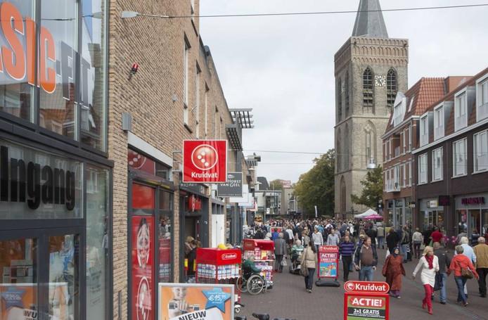 De Grotestraat in het centrum van Ede.