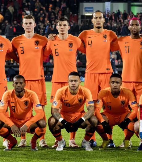 Oranje groepshoofd bij EK-kwalificatie