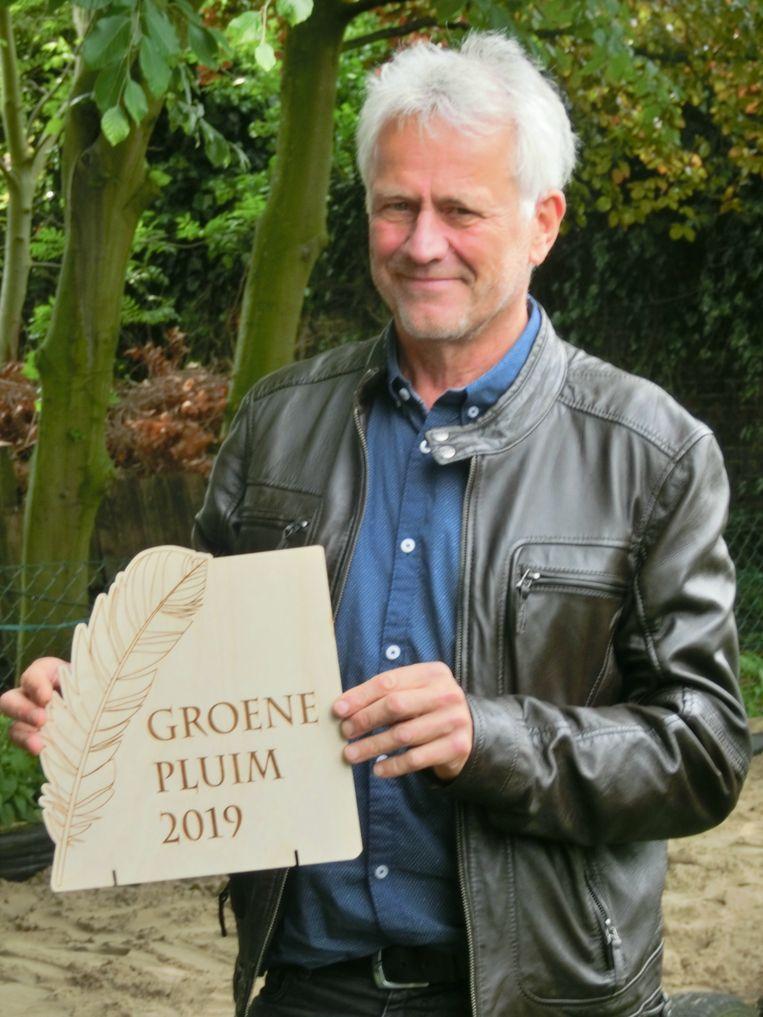 Dirk Waelput wint de Groene Pluim.