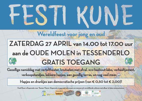 Affiche van Festi Kune